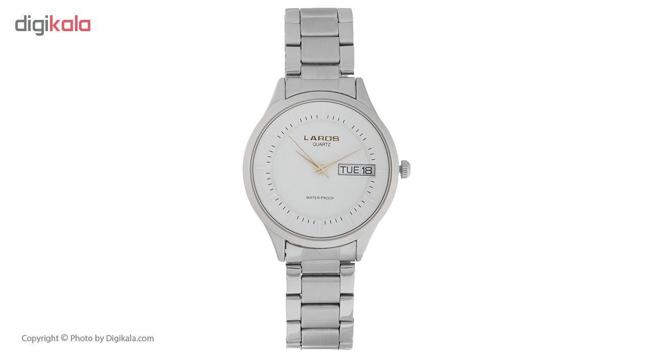 خرید ساعت مچی عقربه ای مردانه لاروس مدل 79977 کد 8