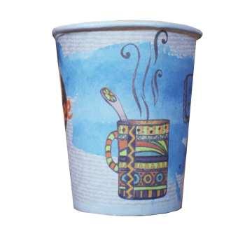 لیوان یکبار مصرف کاغذی مدل A32 بسته ۵۰ عددی