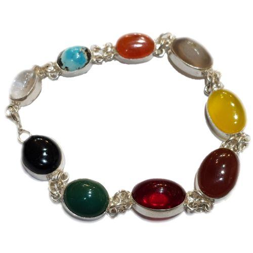 دستبند نقره زنانه مدل ام البنین کد ۷۰۰۰۸