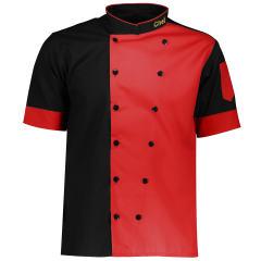 روپوش آشپزی سبلان مدل SHEF قرمز مشکی