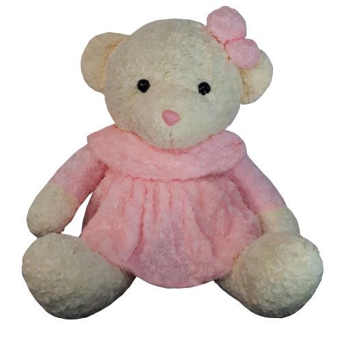 عروسک طرح خرس دختر ارتفاع 85 سانتی متر