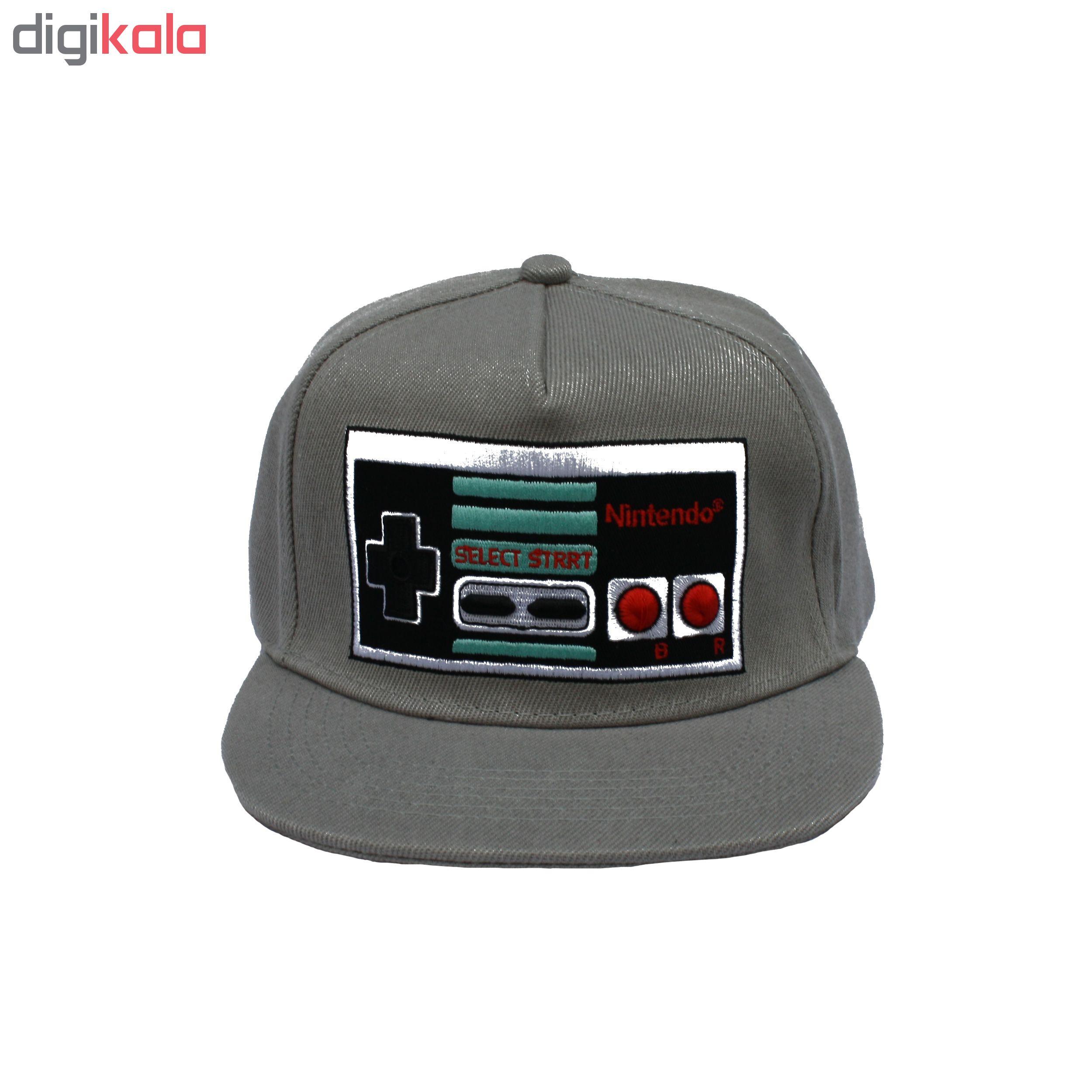 کلاه کپ مدل nintendo
