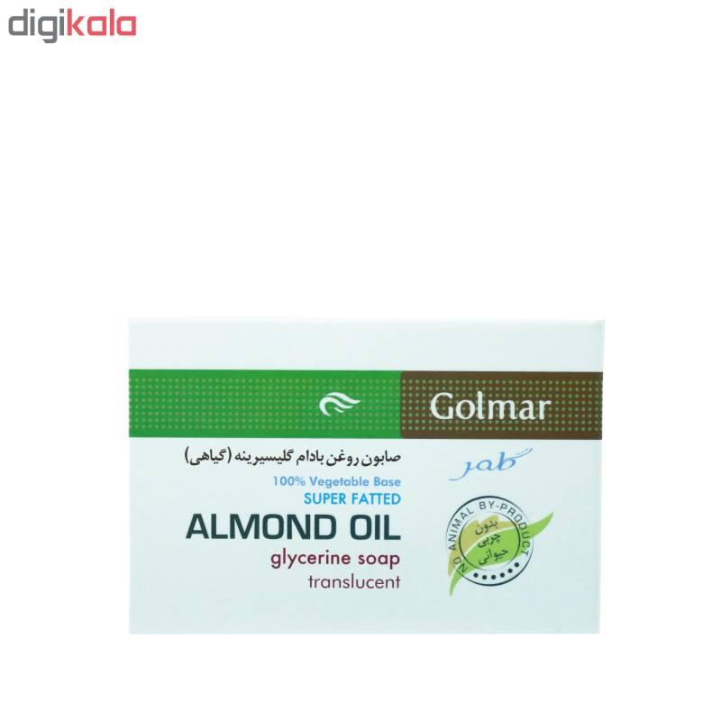 صابون شستشو گلمر مدل  Almond Oil وزن 90 گرم