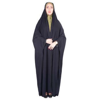 چادر دانشجویی شهر حجاب مدل بدون مچ کن کن ژرژت کد 8020