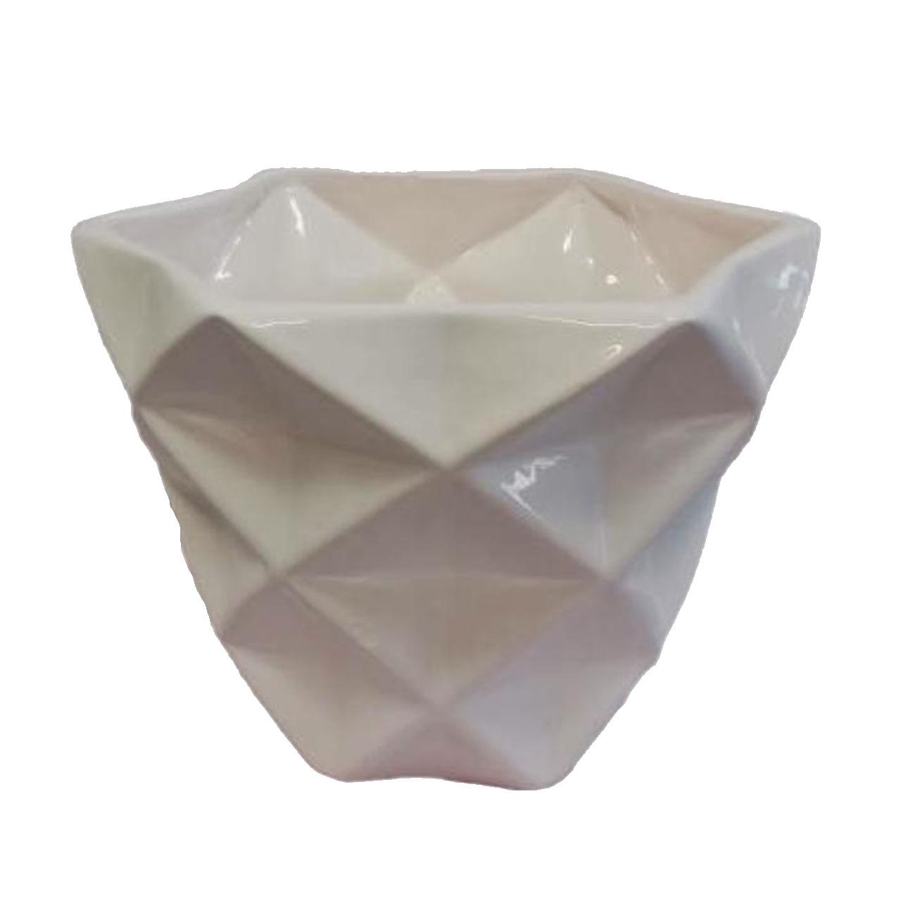 گلدان طرح ستاره الماسی کد ck060