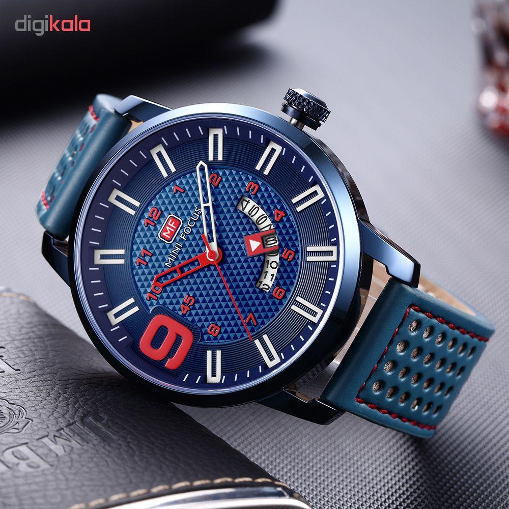 کد تخفیف                                      ساعت مچی عقربه ای مردانه مینی فوکوس مدل mf0154g.03