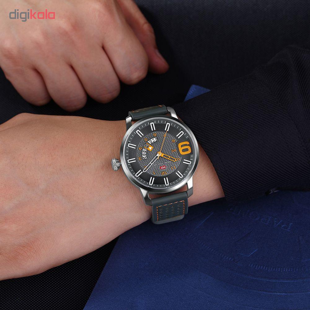 ساعت مچی عقربه ای مردانه مینی فوکوس مدل mf0154g.02