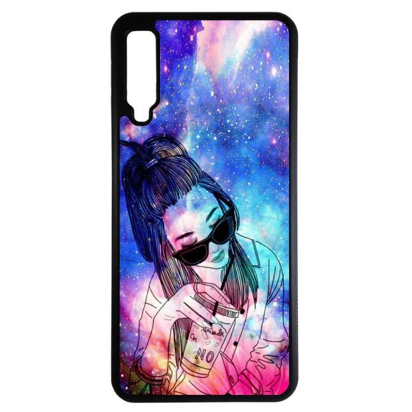 کاور طرح دخترانه کد 10854 مناسب برای گوشی موبایل سامسونگ galaxy A750 / A7 2018