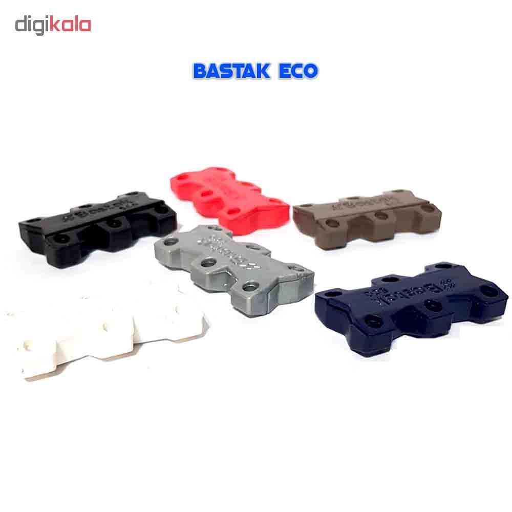 بند کفش مغناطیسی بستاک مدل اِکو E112 رنگ قهوه ای main 1 8