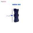 بند کفش مغناطیسی بستاک مدل اِکو E112 رنگ قهوه ای thumb 9