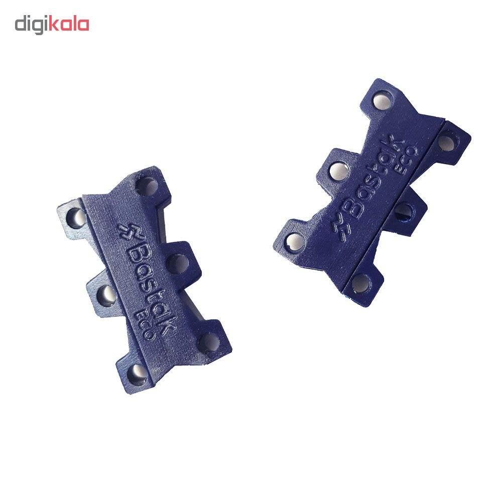 بند کفش مغناطیسی بستاک مدل اِکو E114 رنگ سرمه ای  Bastak Eco Magnetic Shoe Closure
