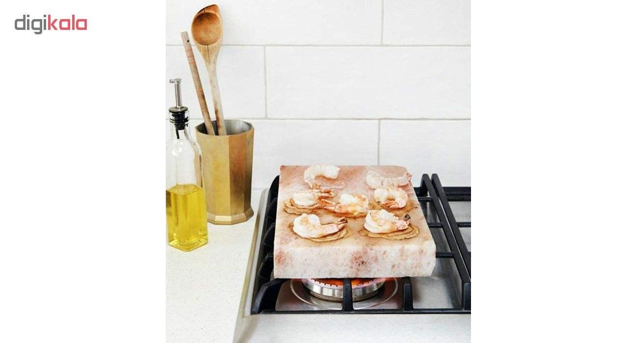 تخته گوشت و پخت و پز سنگ نمک مدل cook main 1 7