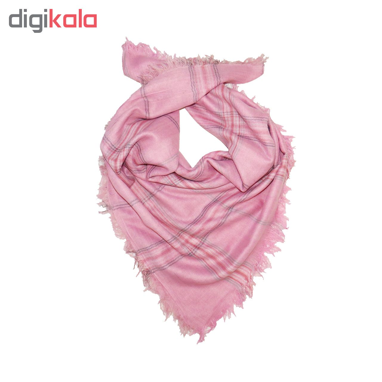 روسری زنانه طرح چهارخانه کد n0065