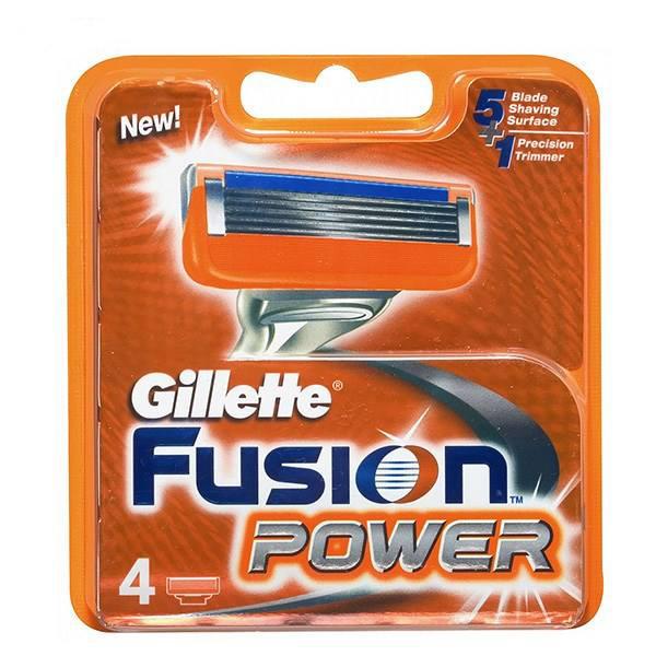 قیمت تیغ یدک ژیلت مدل Fusion بسته 4 عددی