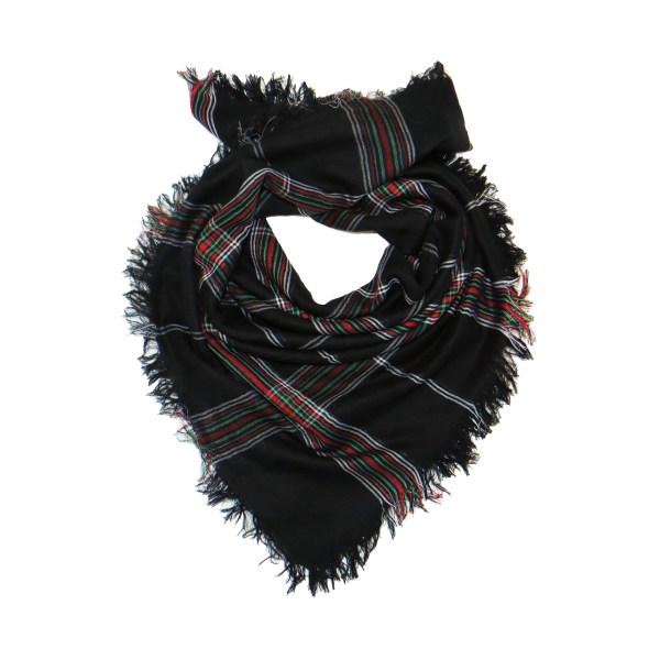 روسری زنانه مدل چهارخانه کد M065