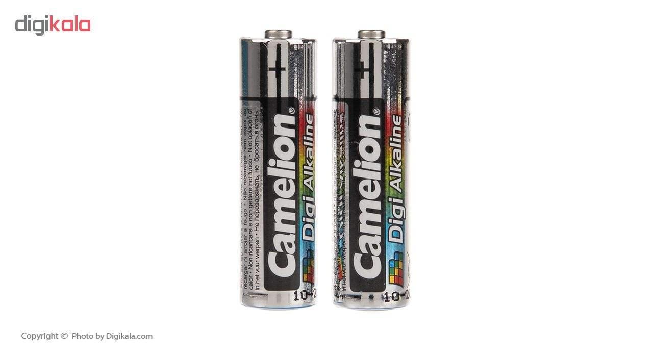باتری کملیون مدل Digi Alkaline بسته 8 عددی به همراه یک چراغ قوه main 1 7
