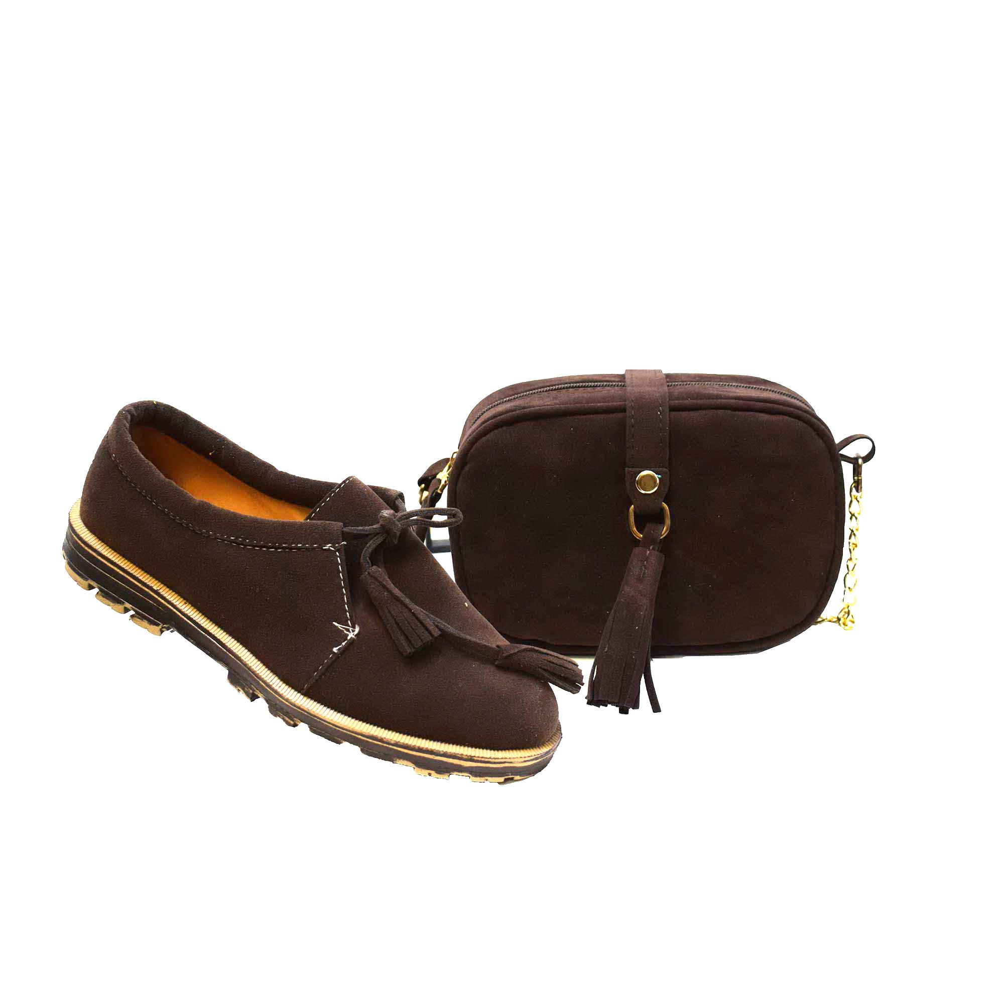 ست کیف و کفش زنانه آذاردو کد SE03011