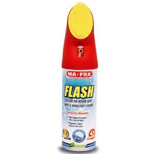 اسپری تمیز کننده داخل خودرو مفرا مدل Flash حجم 400 میلی لیتر