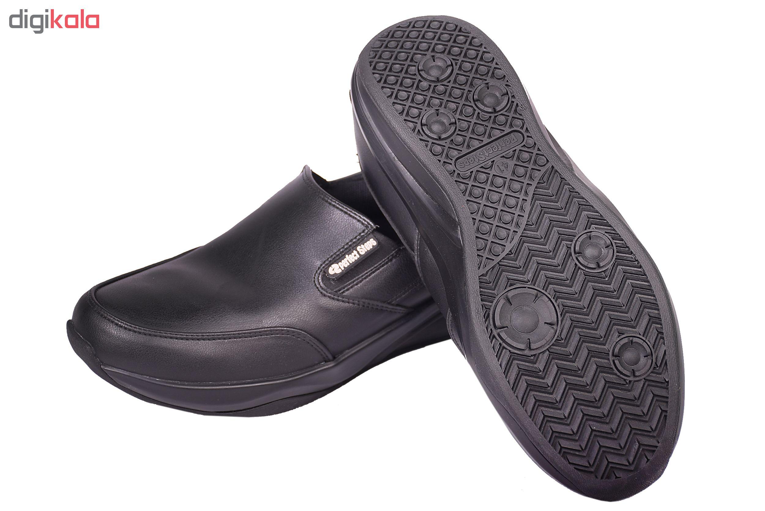 کفش مردانه پرفکت استپس مدل پریمو کد 1983 رنگ مشکی