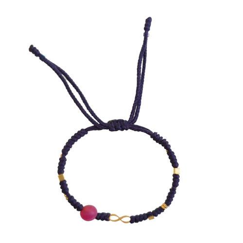 دستبند طلا 18عیار زنانه گرامی گالری مدل B690