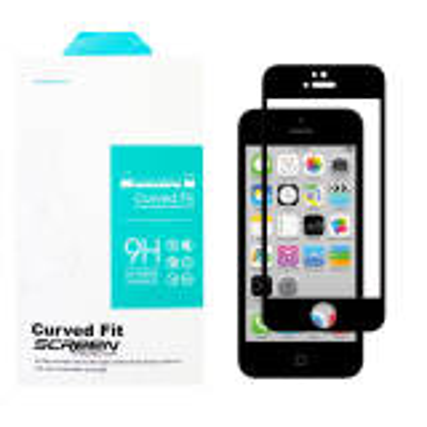 محافظ صفحه نمایش 6D مدل MT7 مناسب برای گوشی موبایل اپل Iphone 5/5s/SE