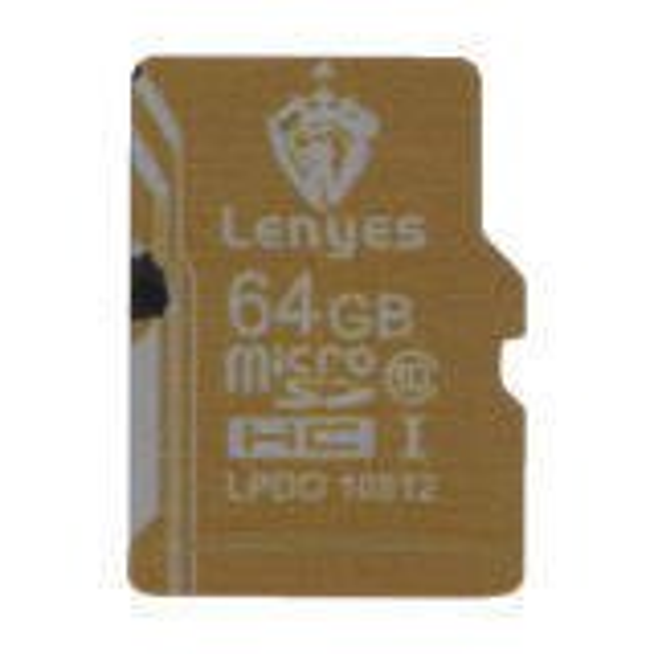 کارت حافظه microSDHC لنیس مدل 10812 کلاس 10 ظرفیت 64 گیگابایت
