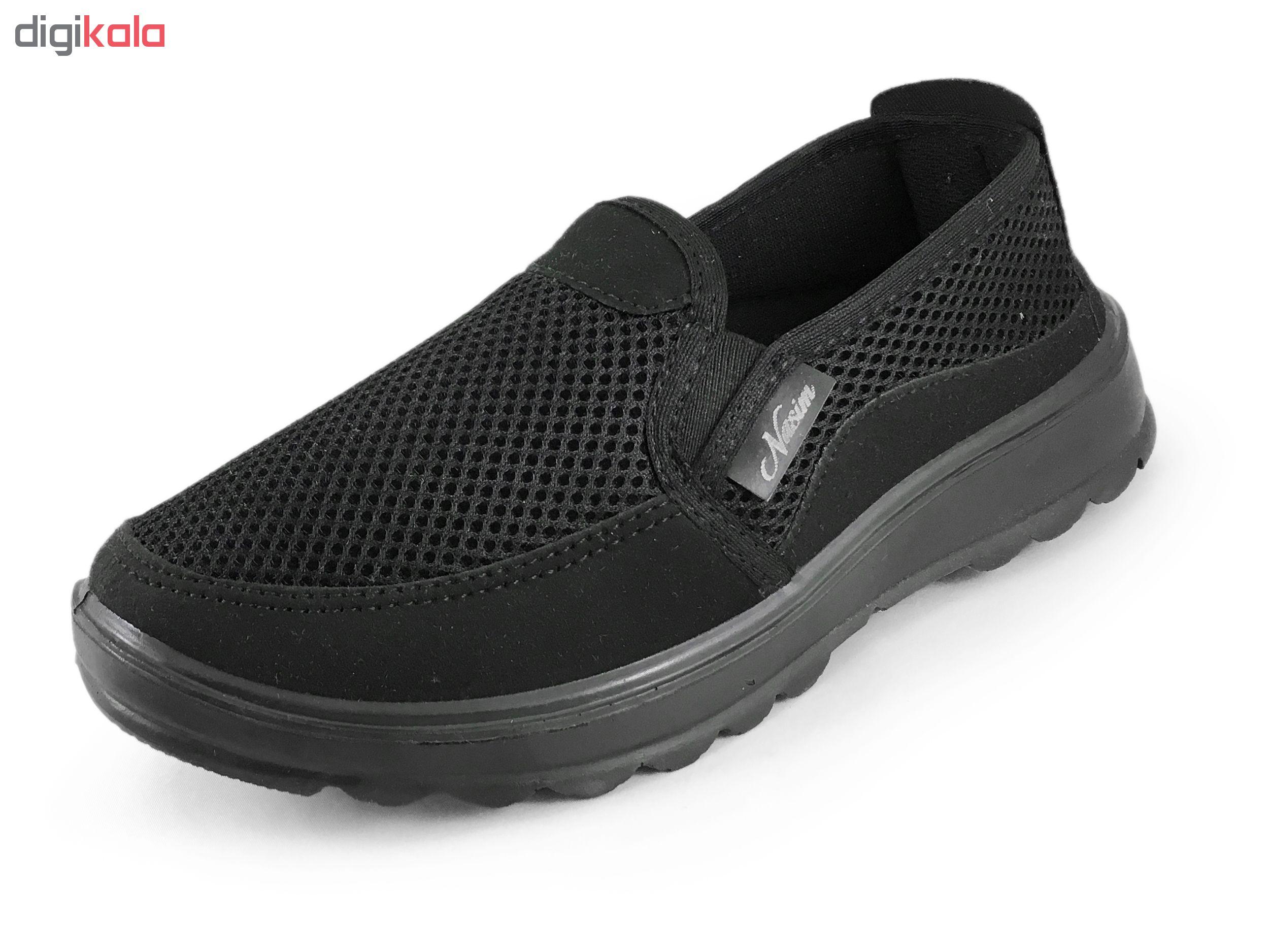 کفش مخصوص پیاده روی مردانه نسیم مدل فرهاد کد 4024