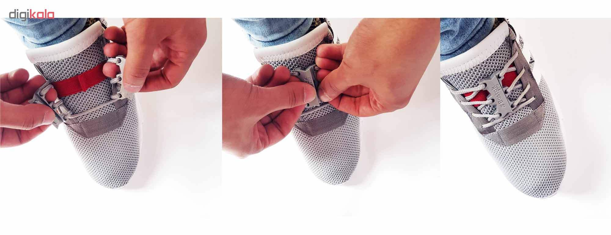 بند کفش مغناطیسی بستاک مدل اِکو E110 رنگ نقره ای main 1 7