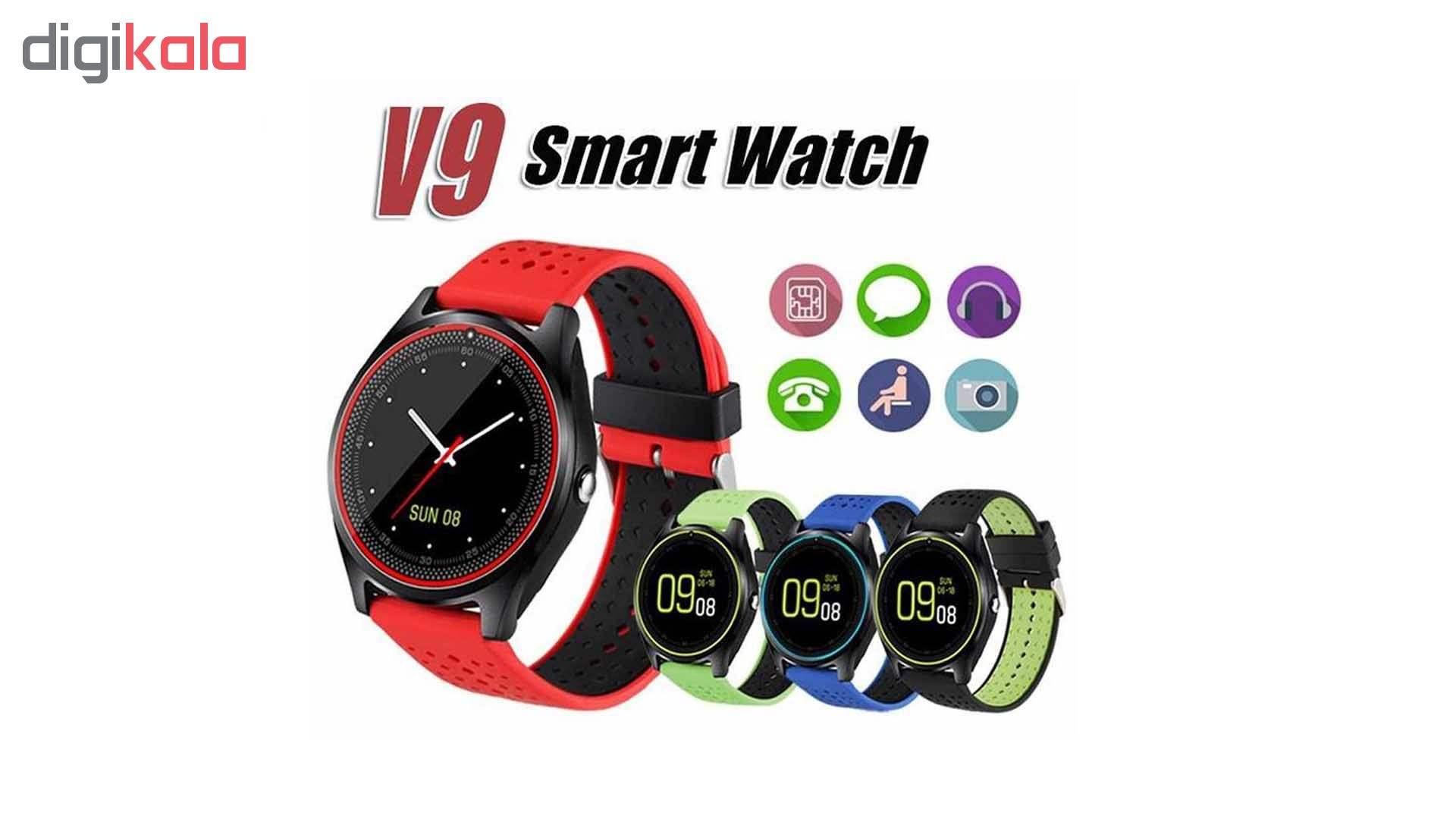 ساعت هوشمند مدل V9 کد 2019 main 1 3