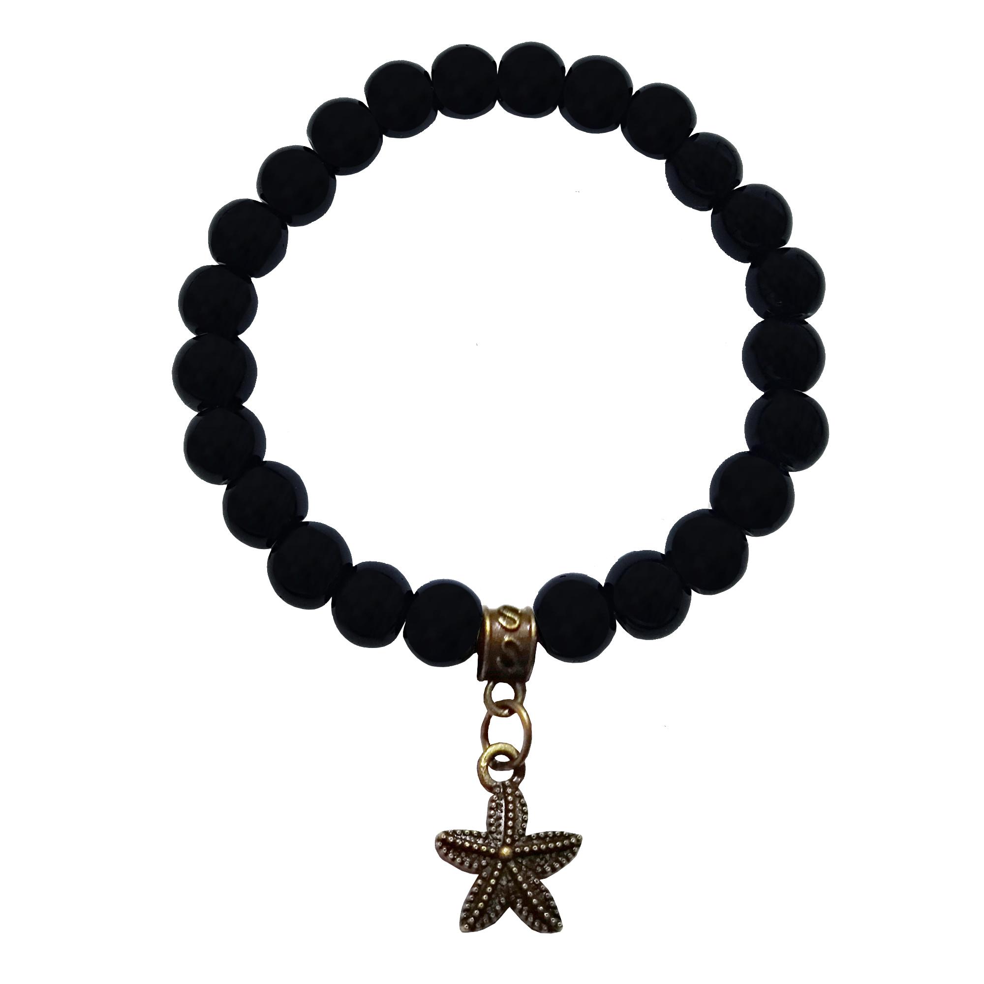 عکس دستبند زنانه لاچو طرح ستاره دریایی کد 2020