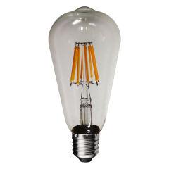 لامپ فیلامنتی 8 وات روژ مدل ST64 پایه E27