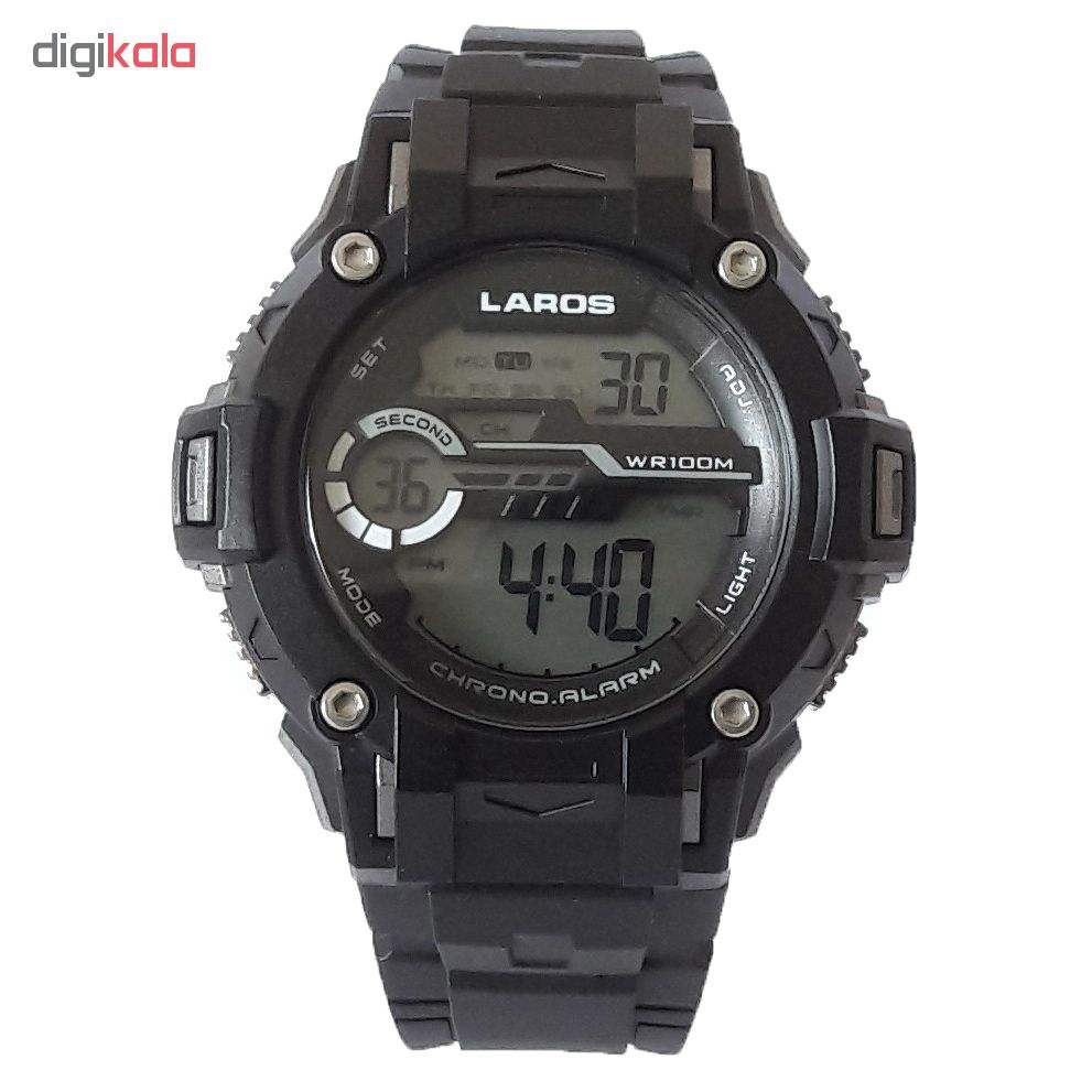 خرید ساعت مچی دیجیتال مردانه لاروس مدل M1177-1117