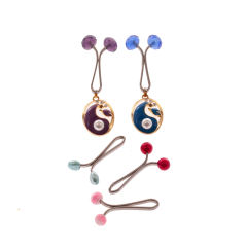 گیره روسری دینا کد M019 مجموعه 5 عددی