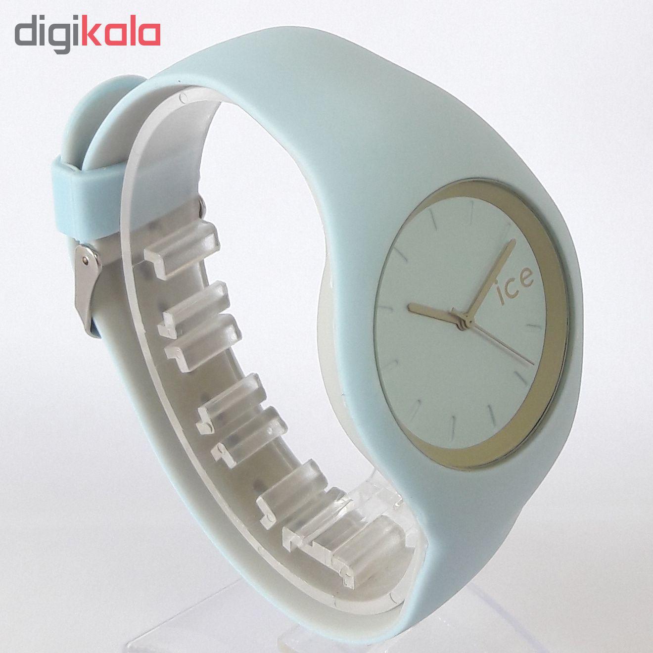 ساعت مچی عقربه ای زنانه مدل IS 9553 / AB-TO به همراه دستمال مخصوص نانو برند کلیر واچ