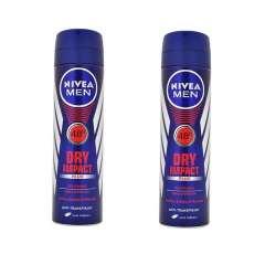اسپری ضد تعریق مردانه نیوآ مدل Dry Impact Plus حجم 150 میلی لیتر بسته 2 عددی