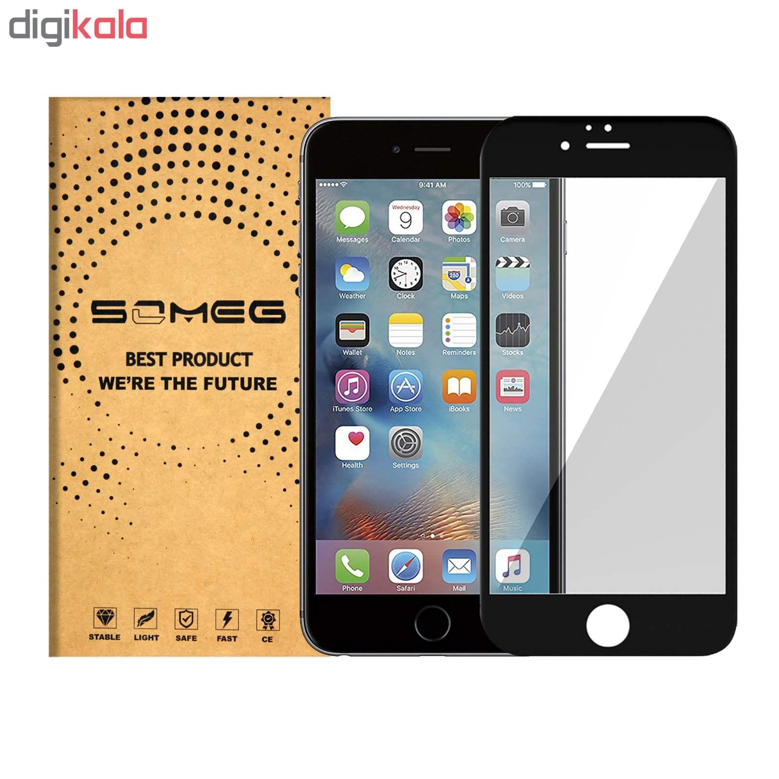 محافظ صفحه نمایش سومگ مدل 9-Nitro مناسب برای گوشی موبایل اپل Iphone 6s Plus  main 1 1