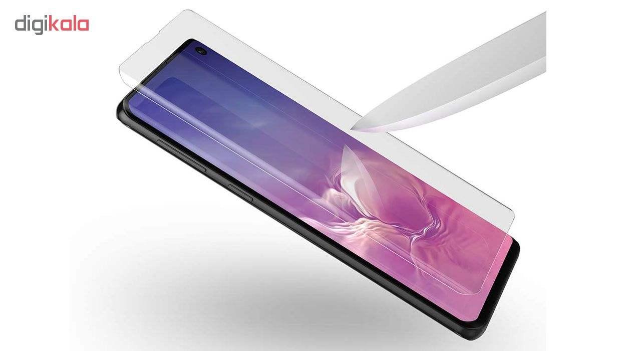 محافظ صفحه نمایش یووی لایت و نانو 3D هورس مدل LVB مناسب برای گوشی موبایل سامسونگ Galaxy S10 مجموعه دو عددی main 1 3