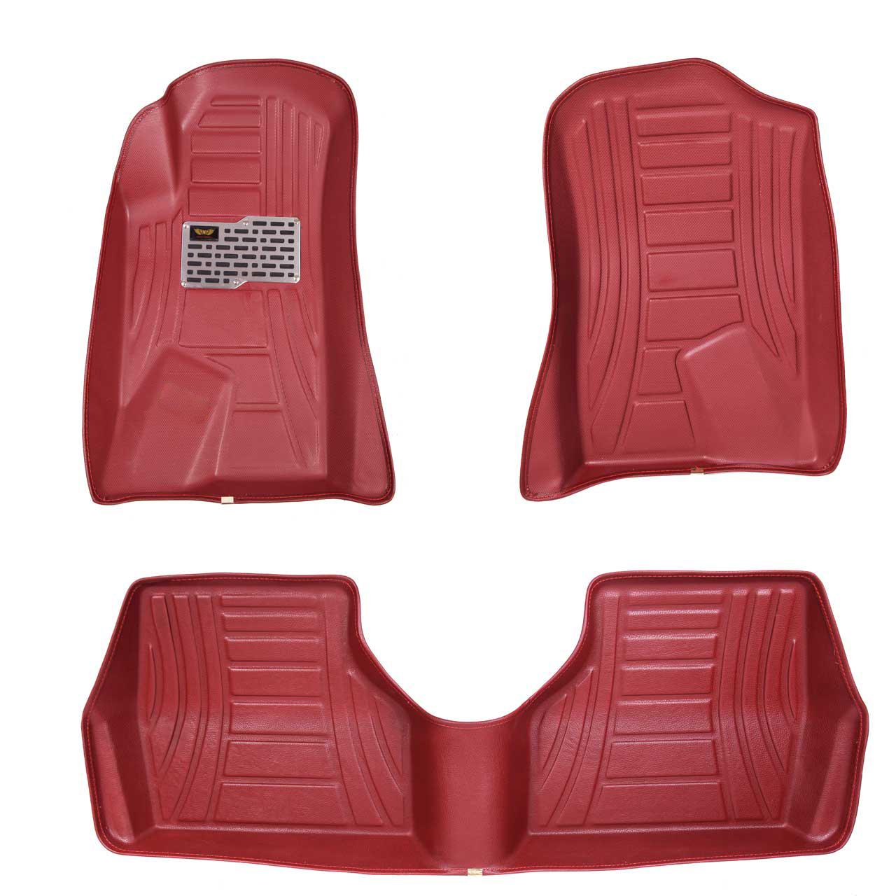 کفپوش سه بعدی خودرو ماهوت کد 8030 مناسب برای پژو 405 و پارس