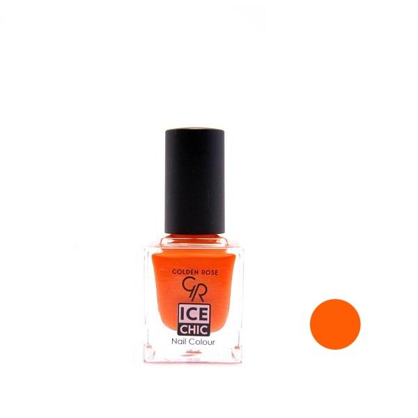 لاک ناخن گلدن رز مدل Ice chic شماره 91