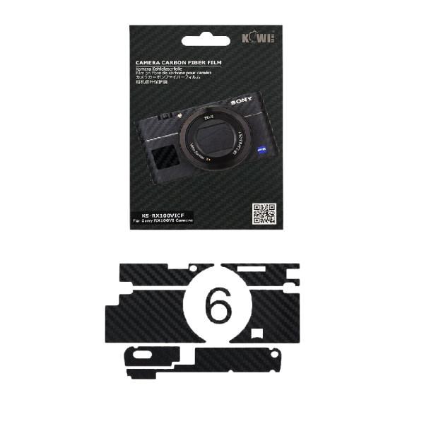 برچسب پوششی کی وی مدل KS-RX100VICF مناسب برای دوربین عکاسی سونی RX100VI