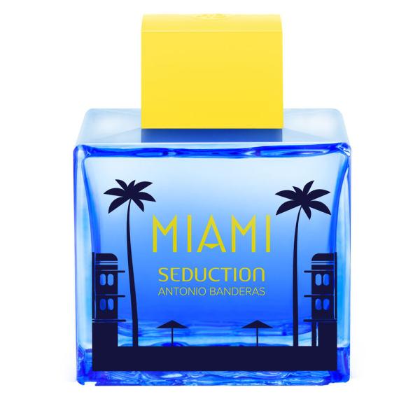 ادو تویلت مردانه آنتونیو باندراس مدل Miami Seduction Blue حجم 100 میلی لیتر