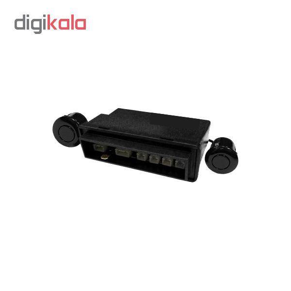 نمایشگر هوشمند خودرو مدل SXSMX001 مناسب برای پراید جدید به همراه سنسور پارک