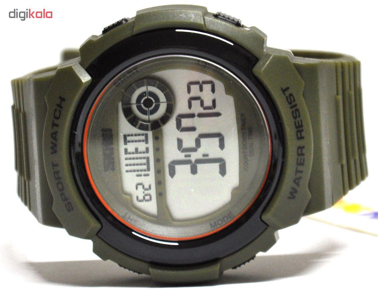 ساعت مچی دیجیتال مردانه اسکمی مدل 1367army