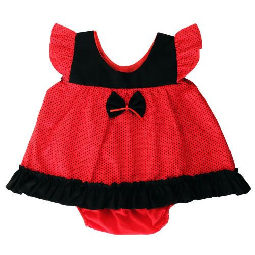 پیراهن نوزادی دخترانه مدل لاله کد 1000