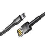 کابل تبدیل USB به لایتنینگ باسئوس مدلCALKLF-HG1 طول 2 متر thumb