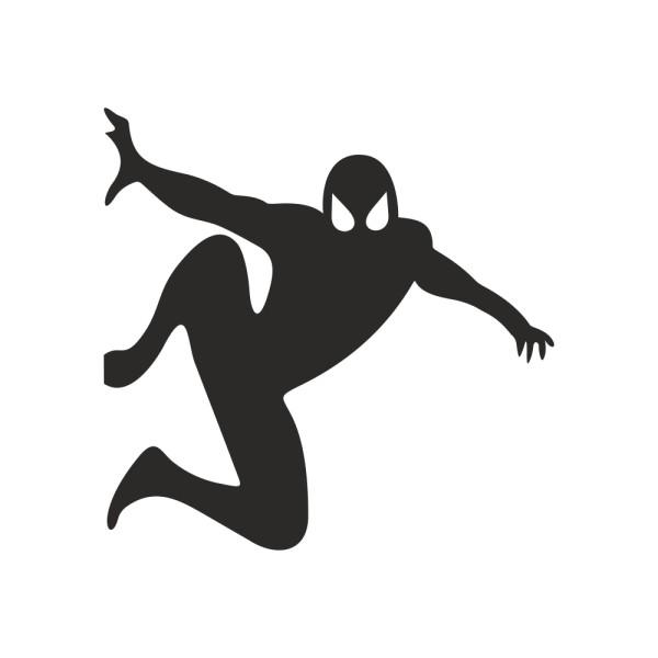 استیکر کلید و پریز چاپ پارسیان طرح مرد عنکبوتی بسته دو عددی
