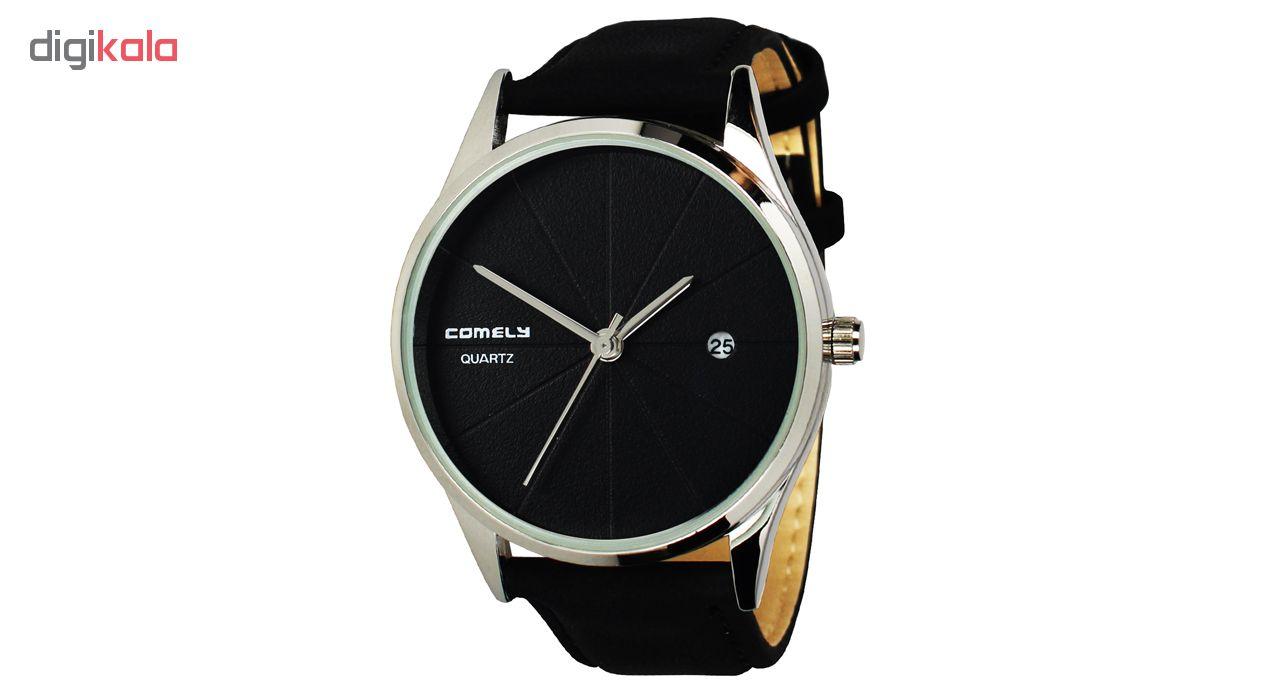 خرید ساعت مچی عقربه ای مردانه و زنانه کیملی مدل Com-05 | ساعت مچی