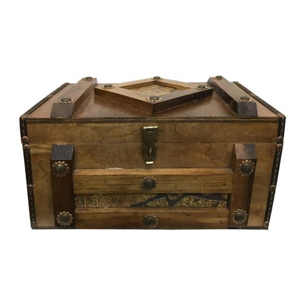 جعبه هدیه طرح صندوقچه مدل ADELKA
