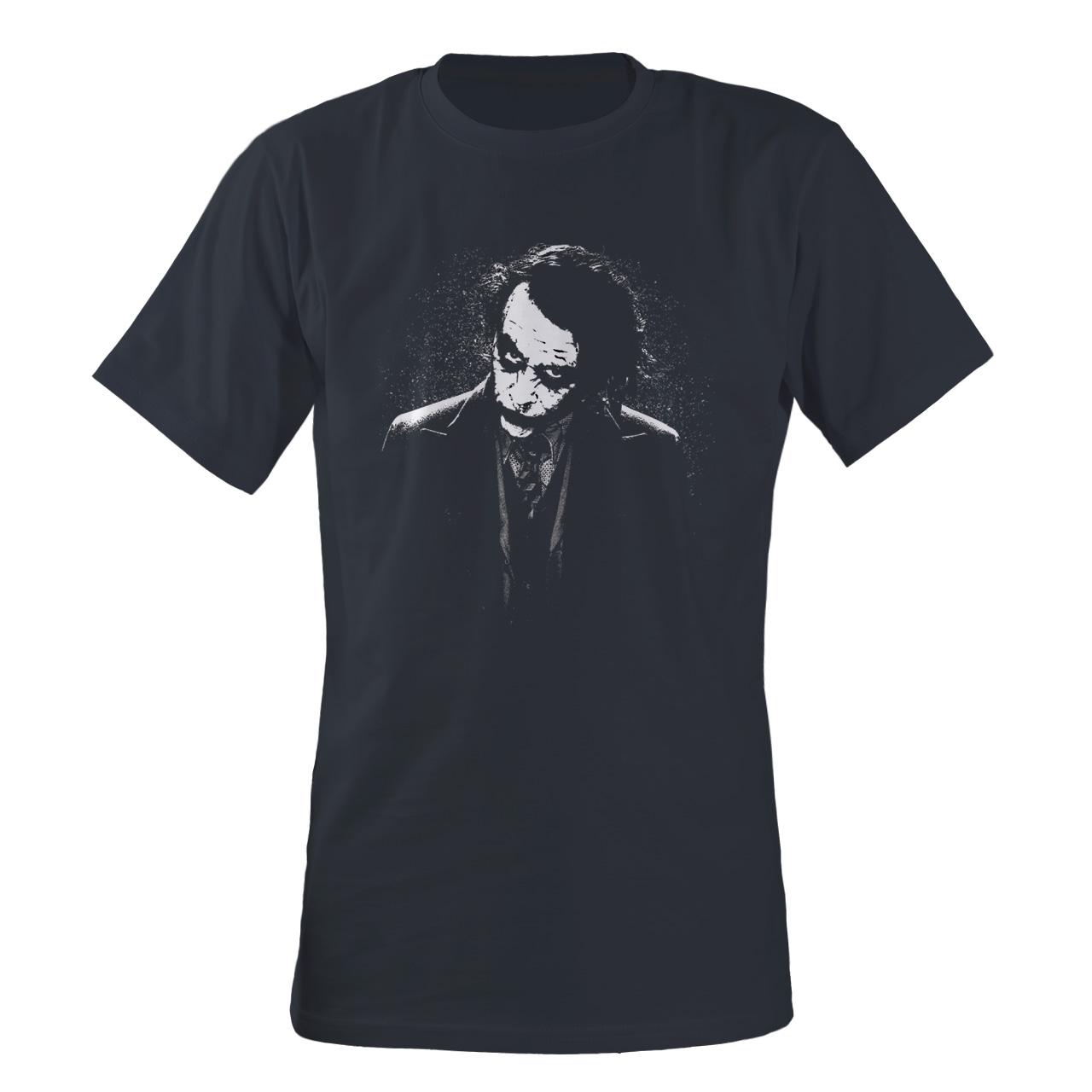 تی شرت مردانه مسترمانی طرح سینما مدل جوکر کد 1226