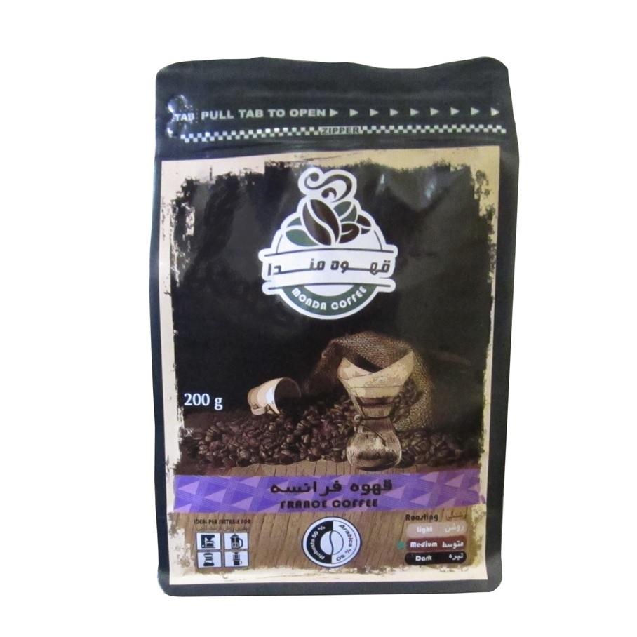 پودر قهوه فرانسه مندا مقدار 200 گرم